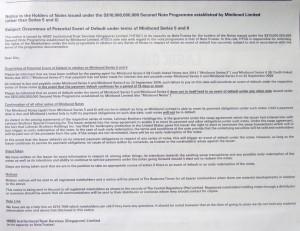 HSBC Trust Notice Minibond (Part 2)